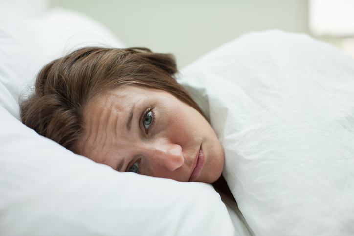A tired woman with Sleep Apnea in Surprise, AZ
