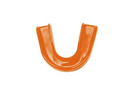 An image of a dental mouth guard.